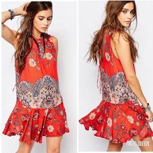 Intimately Free People Dobby Dot Slip Dress